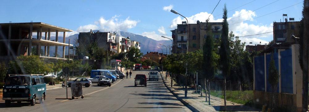 Albanian-town