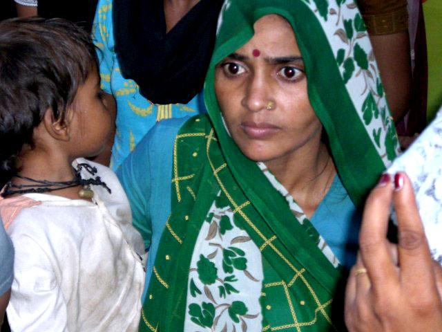 Green-sari-india