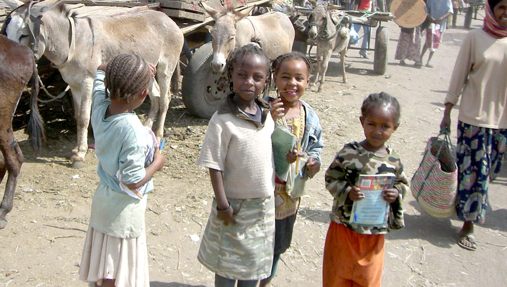 Home-from-school-Ethiopia