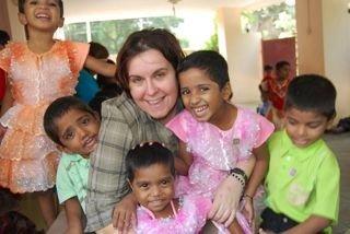 Rae_and_kids_India
