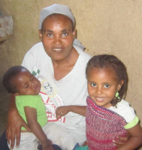 A young widow and her family find hope in Ethiopia