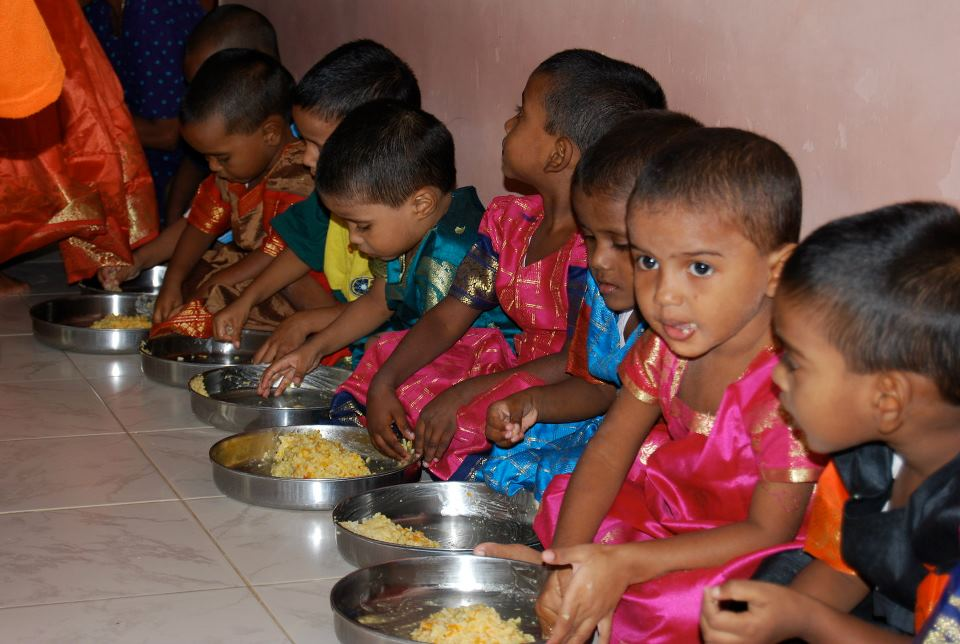Safe and sound orphans in India
