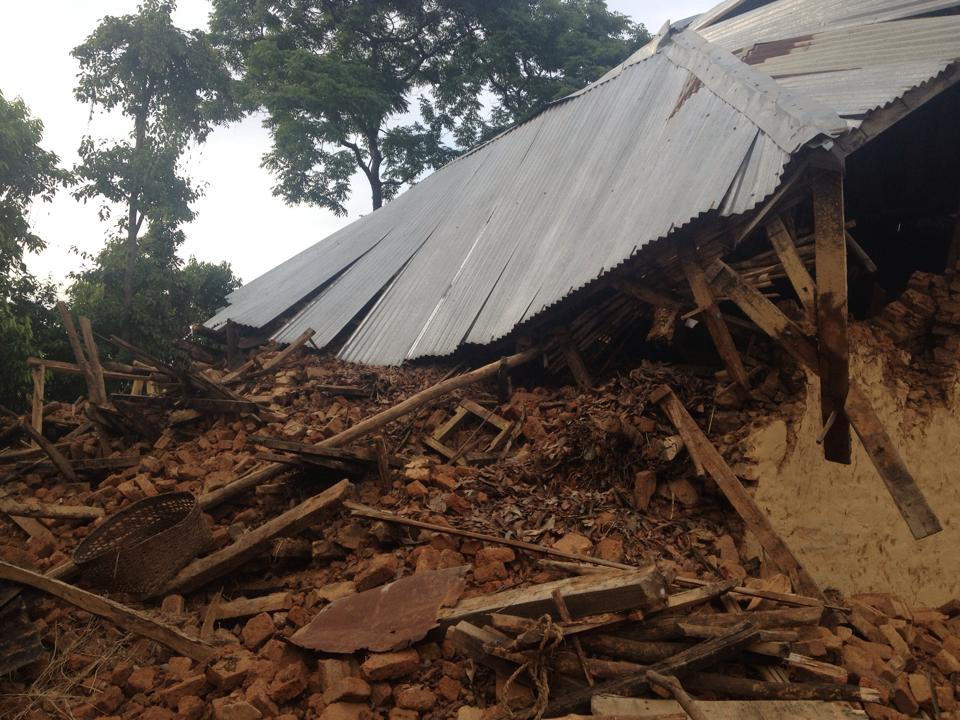 Nepal Earthquake house