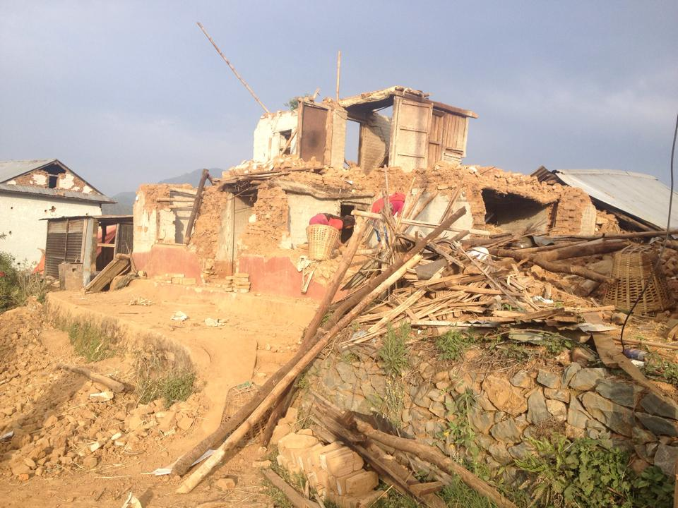 Nepal earthquake homes